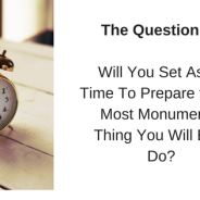 The Question Is….